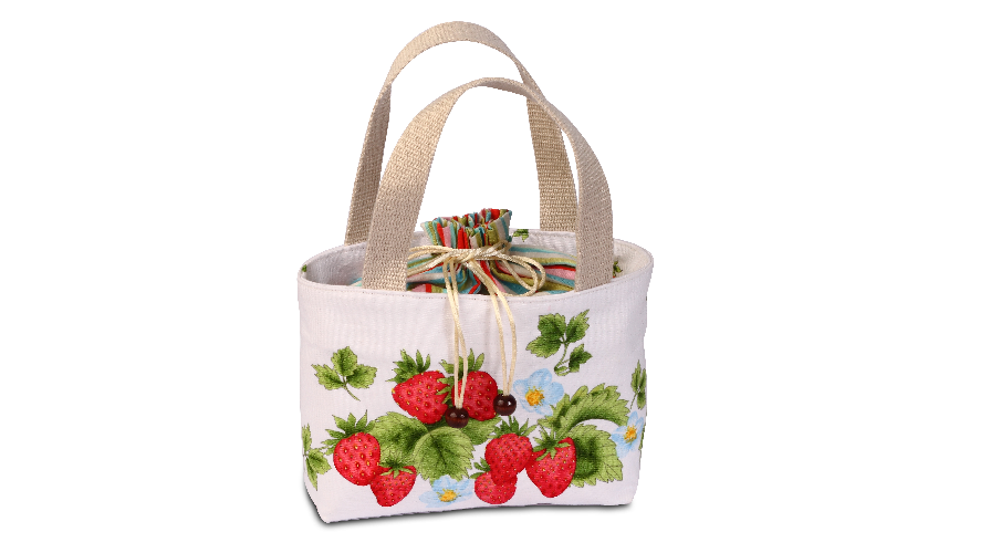 DIY Strawberry Lunch Box