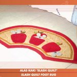 Slash Quilt Foot Rug (JUL)