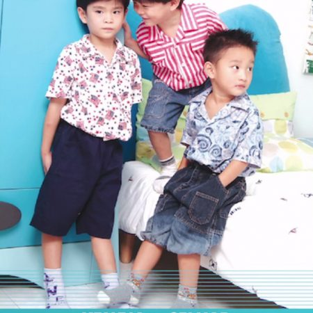 Boy's Shirt and Shorts (JUL)