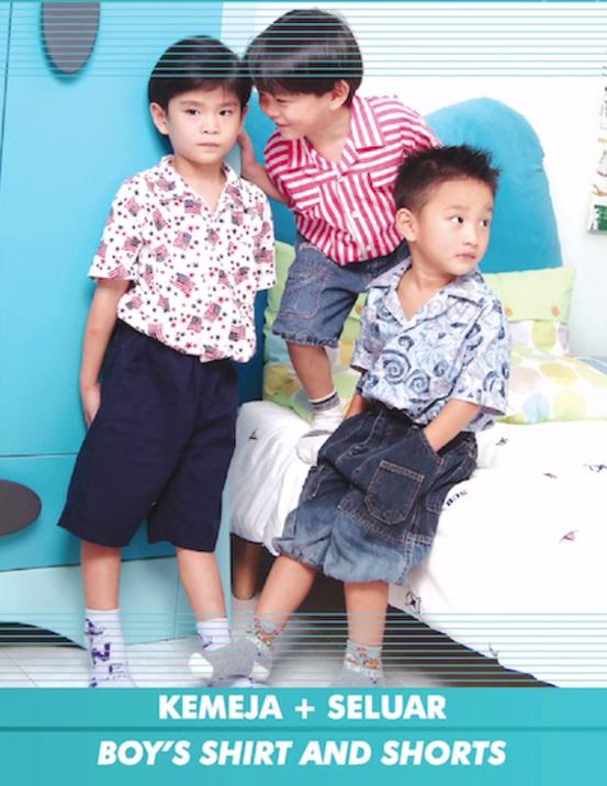 Boy's Shirt and Shorts (JUL)