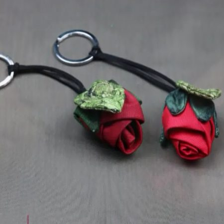 Flower Rose Keychain (Jun)